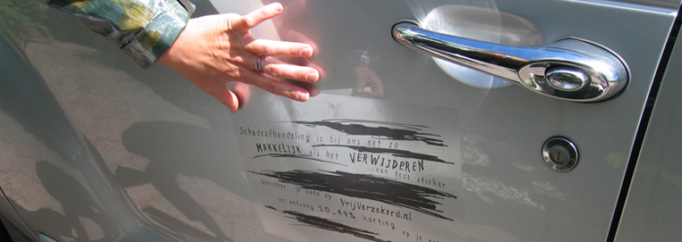 See guerrilla marketing tactics at work in the Scratches on Your Car campaign made by Novocortex