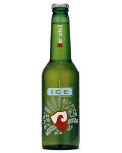 International branding - beer in plastic bottles