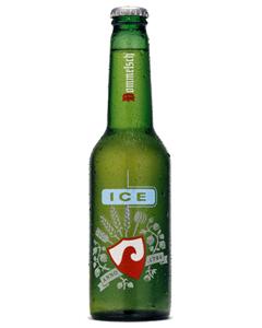 International branding - beer in plastic bottles