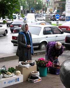 International branding - local fresh market in Ukraine