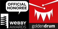 Mobile marketing campaign Endless Racing - Webby Awards, Golden Drum