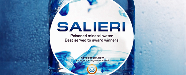 Salieri - poisoned mineral water for award winners