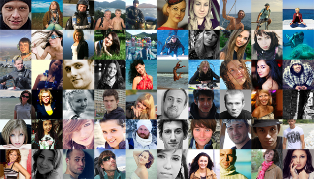 Participants in the social media marketing campaign - The Best Job In Russia